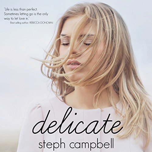 Delicate audiobook cover art
