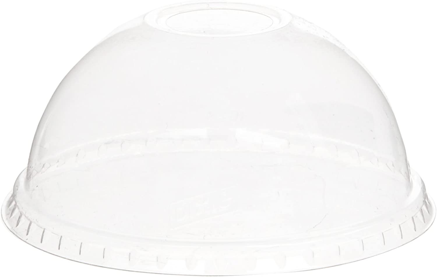 Dixie 16 and 24 oz. Dome Plastic Cold Cup Lid by GP PRO (Georgia-Pacific), Clear,  DL1624,  1,000 Count (50 Lids Per Sleeve, 20 Sleeves Per Case)