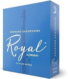 Cañas para saxo soprano Rico Royal, resistencia de 3.0, paquete de 10