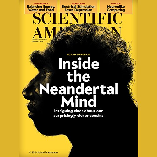 Scientific American, February 2015 audiobook cover art