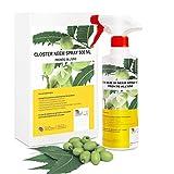 CLOSTER® Neem Olio Spray Pronto all'Uso novità 2020 - Insetticida Naturale per Piante in Giardino e Balcone Contro...