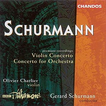Schurmann: Concerto for Orchestra / Violin Concerto