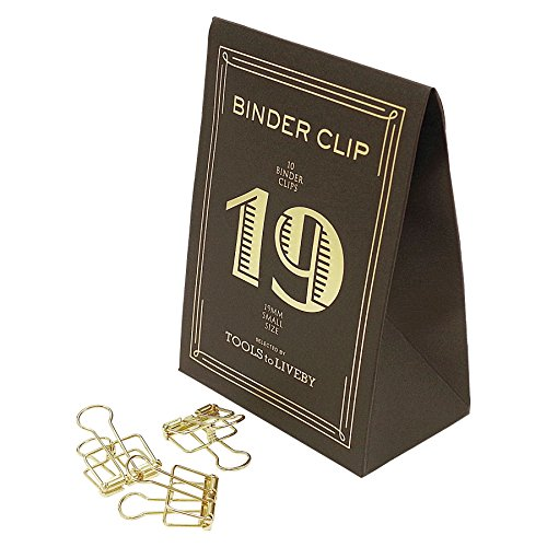 BINDER CLIP/バインダークリップ 19 TTLB【ゴールド】 TL018-GD