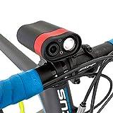 GORIX(ゴリックス) 自転車用ドライブレコーダー ライト付き (GX-RCL) カメラ 映像 フルHD スマホ接続 防水 夜間撮影 サイクリング アンドロイド iPhone