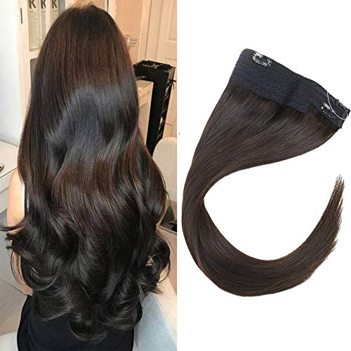 VeSunny Brazilian Hair Halo Fishline Extensions