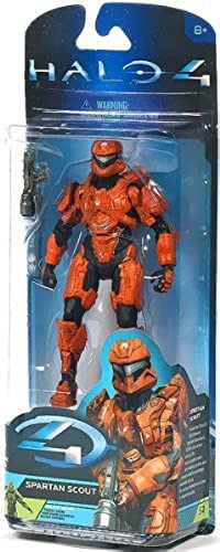 McFarlane Toys, Halo 4 Series 2 Action Figure, Spartan Scout (Orange) by Unknown