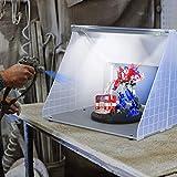 Kacsoo Kit de manguera de cabina de pulverización de piezas de modelo de...