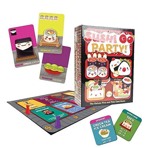 Outtybrave Familienspiel, Party-Spiel Sushi Go! - The Pick and Pass Kartenspiel, Papier, 2, 10 cm