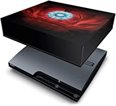 Capa Anti Poeira PS3 Slim - Iron Man