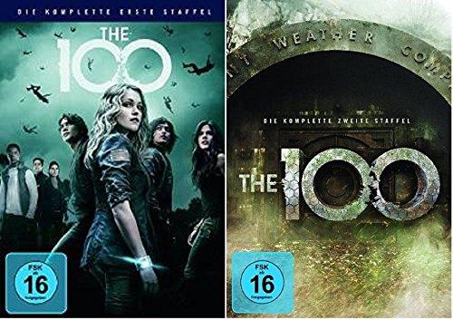 The 100 - Staffel/Season 1+2 * DVD Set * (the hundred,die hundert)
