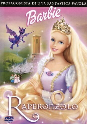 Barbie Raperonzolo [Italia] [DVD]