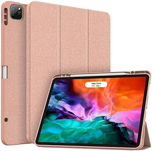 Soke New iPad Pro 12 9 Case 2020 2018 with Pencil Holder Full Body Protection Apple Pencil Charging product image