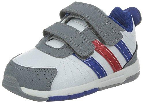 Adidas Snice 3 CF I Kinderschuhe running white-collegiate royal-light scarlet - 27