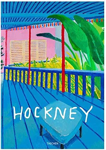 """Surfilter Print auf Leinwand David Hockney Taschen Modernes Ölgemälde bstract Bunte Leinwand Kunst Gemälde Poster Wandkunst Drucke Wohnzimmer Dekor Pop 15.7"""" x 23.6"""" (40x60cm) No Fram"""