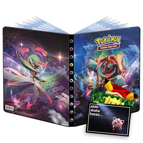Lively Moments Pokemon Ultra Pro Álbum A4 Weg des Champs y tarjeta de felicitación gratis