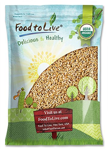 Organic Pearl Barley, 6 Pounds - No…