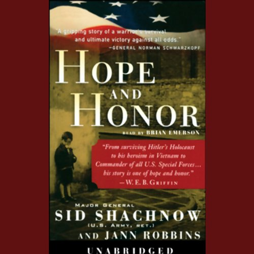 Hope and Honor audiobook cover art