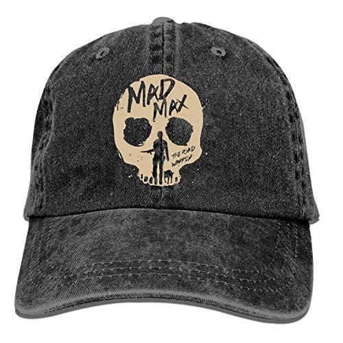 Gorra de béisbol Onled negra alternativa Mad Max Road Warrior Movie Trucker...