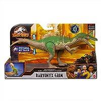 マテル ジュラシック・ワールド:サバイバル・キャンプ 2020 サウンド・ストライク トーキング アクションフィギュア バリオニクス グリム / MATTEL JURASSIC WORLD SOUND STRIKE Action Figure BARYONYX GRIM 映画 NETFLIX 恐竜 フィギュア グッズ プライマル・アタック アニメ ネットフリックス [並行輸入品]