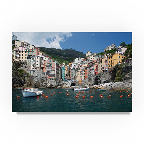 Cinque Terra 2 by Chris Bliss, 12x19-Inch Canvas Wall Art