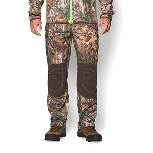 Under Armour ColdGear Infrared Scent Control Fleece Pant - Men's Realtree Ap Xtra/Velocity XL