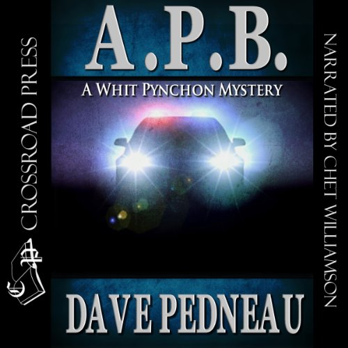 A.P.B. audiobook cover art