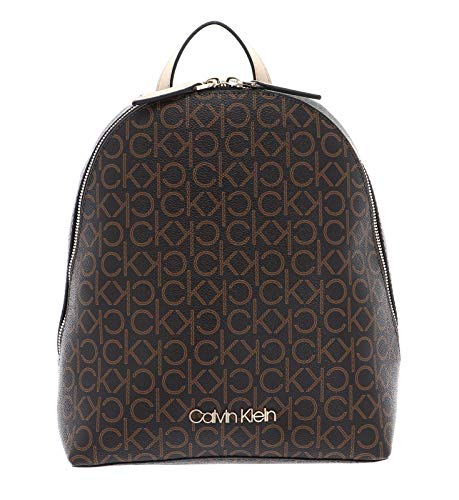Calvin Klein Small Backpack CK Mono Small Backpack Brown Mix
