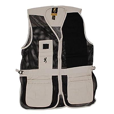 Browning Trapper Creek Left Hand Vest, Sand/Black, XX-Large