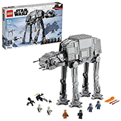 Fans of the classic Star Wars trilogy and the LEGO Star Wars: The Skywalker Saga video game will love recreating Battle of Hoth action with this detailed, posable LEGO brick version of the iconic AT-AT (75288) Walker This fun, creative building toy f...