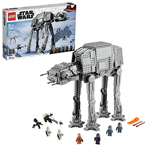 LEGO Star Wars AT-AT 75288 Building Kit, Fun Building Toy for Kids to Role-Play Exciting Missions in the Star Wars Universe and Recreate Classic Star Wars Trilogy Scenes, New 2020(1,267 Pieces)
