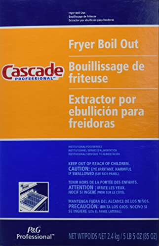 Cascade with Phosphates Professional Fryer Boil Out 85-oz