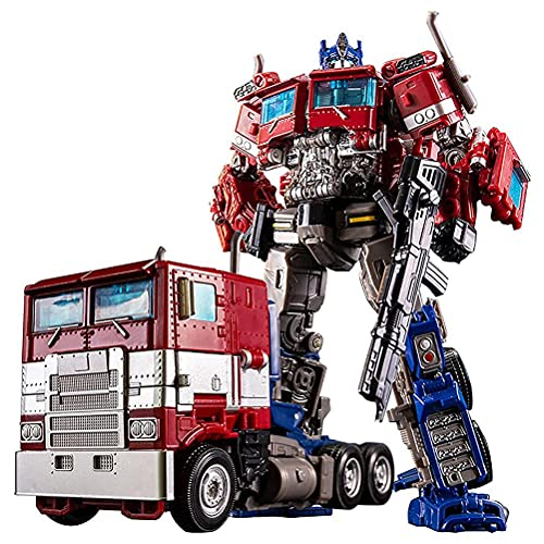 BSTCAR Optimus Prime Transformer Figur Transformador Coche Robot Deformado Coche Robot Transformers Juguetes Regalo para Niños Niños