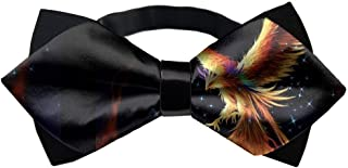 INWANZI Adjustable Length Pre-Tied Bow Tie for Men /& Boys Elegant Green Dirt Bike Colorful Patterned Bowtie