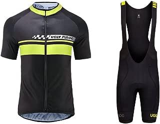 Maillot Ciclismo EKEKO Sierra Nevada JN Cremallera 3//4 Bolsillos Traseros y Cintura de Silicona