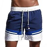 CosPrincely Hombre Bañador Shorts de Playa Natación Baño Trajes Secado Rápido Corto Deporte...