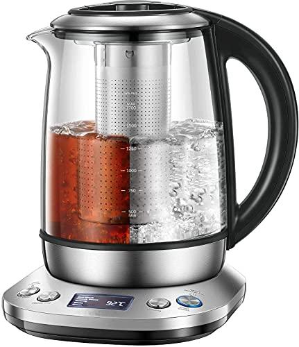Wasserkocher mit Temperatureinstellung |...