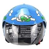 Generp Vier Jahreszeiten Kinderhelme, Motorrad Harley Battery Car Helm, für Männer und Frauen Baby...