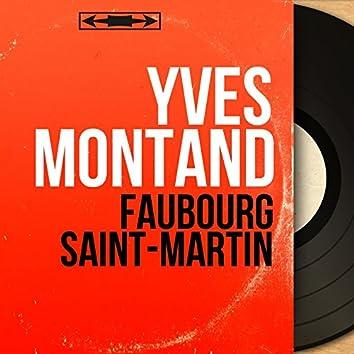 Faubourg Saint-Martin (feat. Bob Castella et son orchestre) [Mono Version]