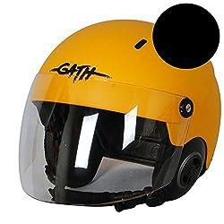 Gath Casque Rescue Noir Mat TAILLE L avec Visière Sport Aquatique Jetski Rib boot