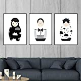 FA LEMON Cartoon Russische Puppe Poster und Drucke Leinwand Malerei Kinder Kinder Baby Room Decor...