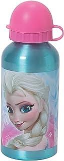 Fun House 005250Gourde Aluminio para niños, diseño de Frozen Aluminio Azul 6,4x 6,4x 17cm