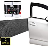 Paracolpi Garage Auto Set Da 2 Rotoli XXL Maxi Formato 2mtx25cmx6,5mm Strisce Adesive Ammortizzanti Protezione Portiera Paraurti Adesivo Pannelli Pareti Box (6,5mm)