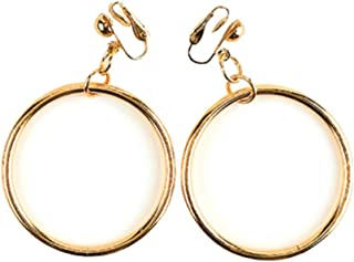 Rubie's Costume Co Pirate or Gypsy Costume Clip-on Earrings Gold One Size
