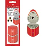 9. Faber-Castell Grip Trio Sharpener Arts and Crafts, Multi
