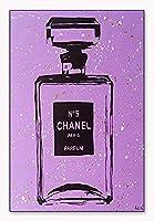 ポスター アーティスト不明 Chanel Purple Urban Chic