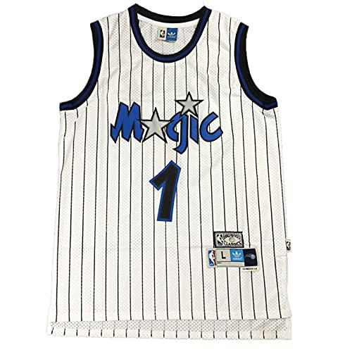 KKSY Camisetas para Hombre T.McGrady # 32 Camisetas de Baloncesto Retro de la NBA Orlando Magic,C,L