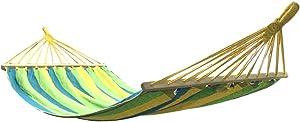 SUP-MANg Hamaca de Ocio de Lona Gruesa, prevención de vuelcos, Adecuado for Acampar al Aire Libre, 200 * 100 cm (Color : Green)