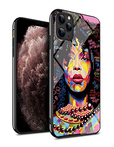 Kitata Iphone 11 Pro Max Case African American Black Women Afro