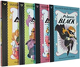The Princess in Black Collection 4 Books Set (The Princess in Black, The Perfect Princess Party, The Hungry Bunny Horde, T...