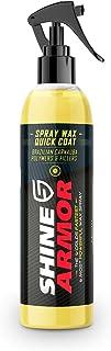 Shine Armor Car Wax with Carnauba Wax – Liquid Spray Wax for Car – Hybrid..